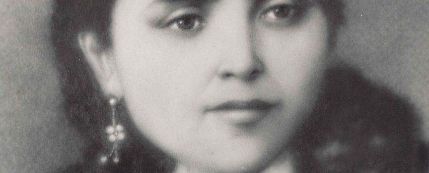 Una joven Dolores Sopeña