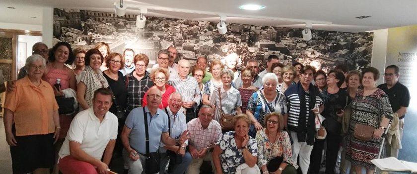 Colaboradores de Toledo visitan el Museo de Dolores Sopeña
